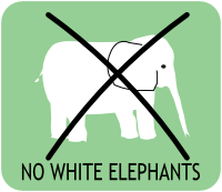 Get a website that works not a white elephant