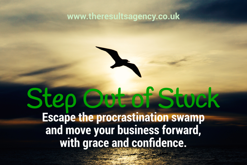 Step Out of Stuck - Escape the Procrastination Swamp
